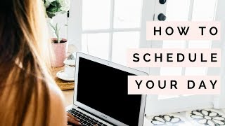 How To Plan Your Day With Google Calendar | Time Management Tips | The Blissful Mind