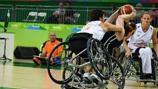 Wheelchair Basketball | Netherlands vs USA | Women's preliminaries | Rio 2016 Paralympic Games