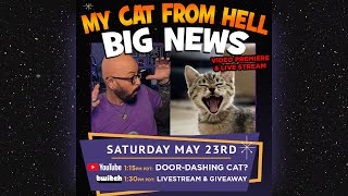 My Cat From Hell BIG NEWS - Live from the Cat Cave with Jackson Galaxy 5/23