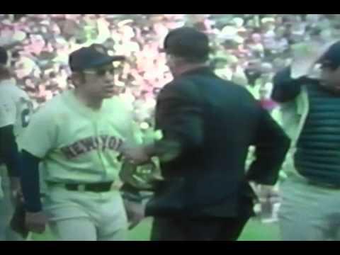 New York Mets Yogi Berra Goes Nuts At Bad World Series In Oakland