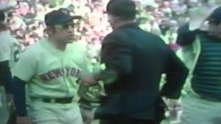 """New York Mets"" ""Yogi Berra"" Goes Nuts At Bad Call, 1973 World Series In Oakland!"