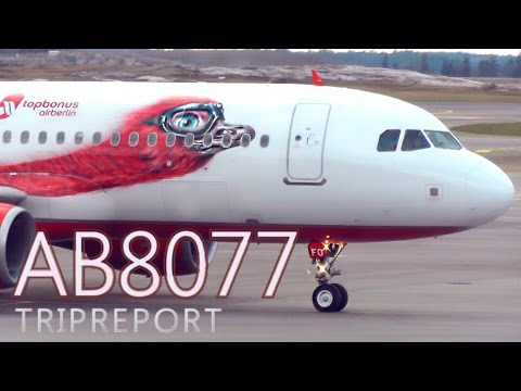 "TRIP REPORT | Airberlin AB8077 | ""Milo"" A320 Full Flight Experience 