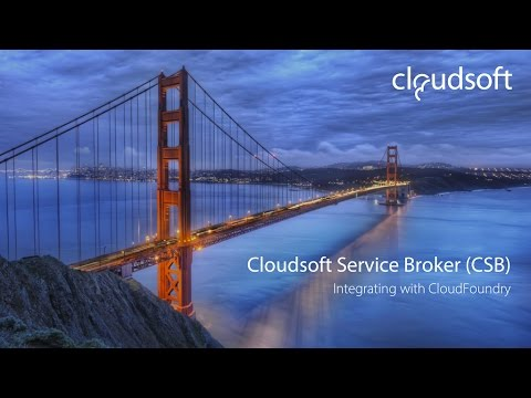 Leverage Existing Enterprise Data as Cloud Foundry Services - Robert Moss, Cloudsoft Corporation
