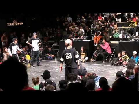 M@K@ vs TRUST (HOUSE BEST8 )JusteDeboutJapan2011