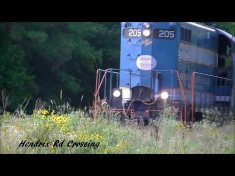 Chasing Aberdeen & Rockfish Railroad 205