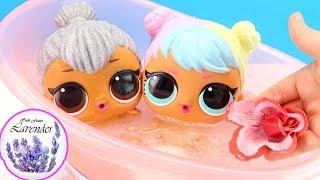 РАСТВОРЯЕМ РОЗУ И ШАРИК Купаем Куклы Пупсики #ЛОЛ Сюрприз Игрушки Для детей 108мама тиви