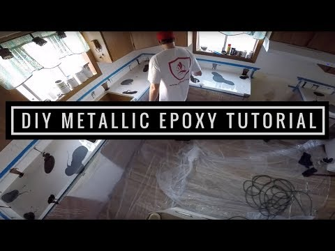 Rustoleum Countertop Paint Bubbles : HOW TO APPLY EPOXY RESIN ON TABLE TOPS COUNTER TOPS BAR TOPS ...