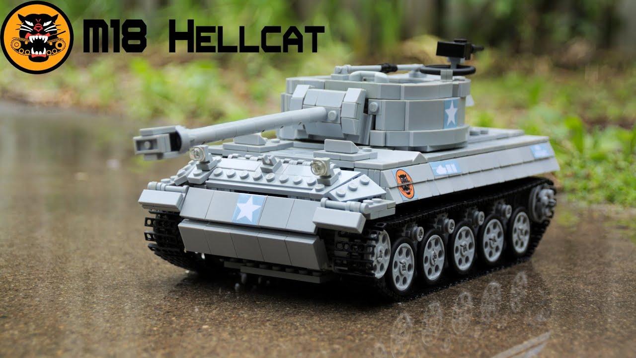 M18 Hellcat For Sale >> Lego M18 Hellcat Tank Destroyer (Sbrick) - YouTube