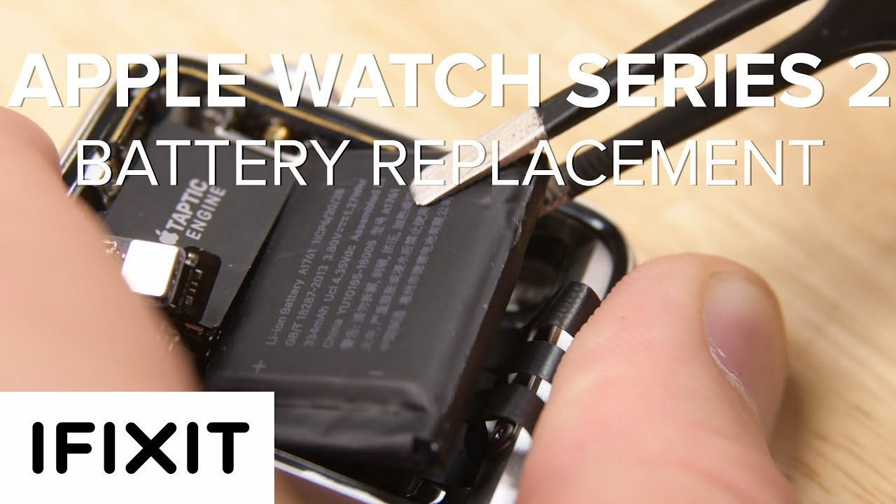 Apple Watch Series 2 Battery Replacement How To Youtube