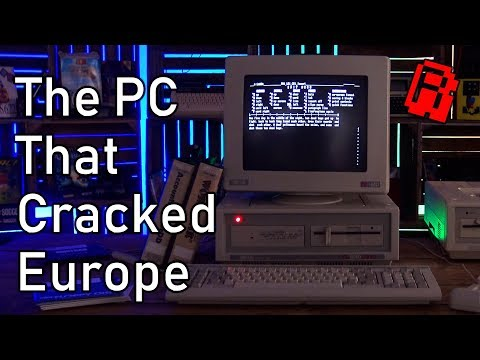 The PC That Cracked Europe - Amstrads PC1512 and 1640 | Computer History