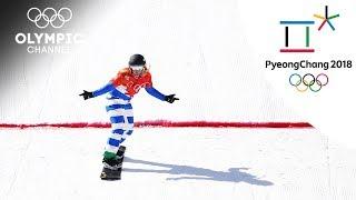Michela Moioli's Snowboard Highlights | Pyeong Chang 2018