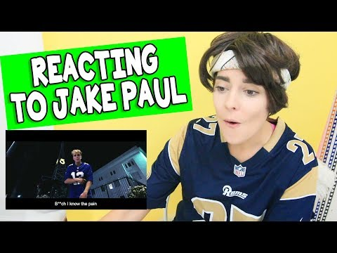 F*CK BOY REACTS TO JAKE PAUL // Grace Helbig