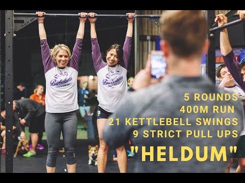CrossFit Helen Workout Variation