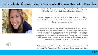 Fiance held for murder Colorado Kelsey Berreth Murder