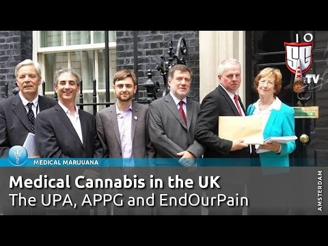 UK Politicians Call For Legal Medical Cannabis - The UPA, APPG & EndOurPain - Smokers Guide TV UK