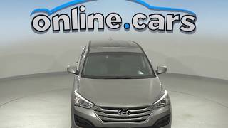 C99776RT Used 2015 Hyundai Santa Fe Sport 2.4L AWD SUV Gray Test Drive, Review, For Sale