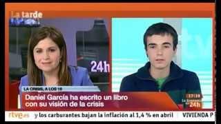 Entrevista en el canal 24 horas de TVE.