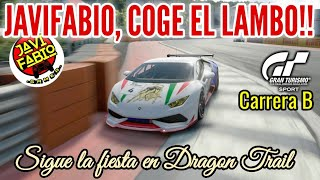 Gran Turismo Sport - JaviFabio , COGE EL LAMBO,  CABR*N !! Librada Final !! - Modo Sport Carrera B