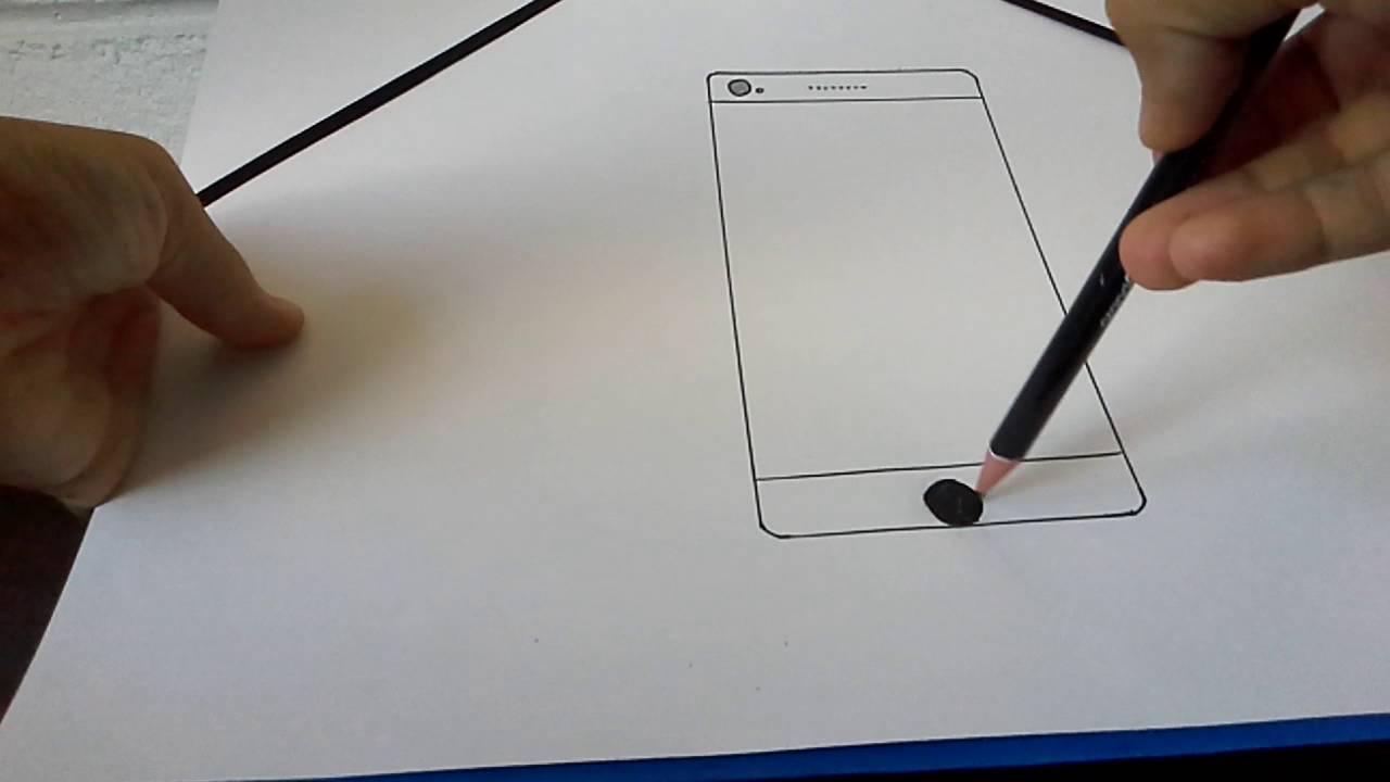 Tuto Comment Dessin 201 Un Smartphone Iphone 7 Mini