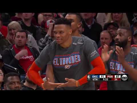 Oklahoma City Thunder vs Portland Trailblazers | March 7, 2019