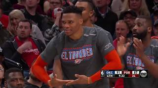 Oklahoma City Thunder vs Portland Trailblazers | March 7, 2019