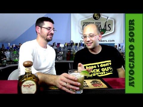 The Avocado Sour Cocktail Recipe, Avocado Challenge!