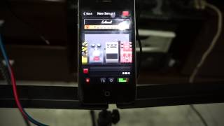 hiệu ứng guitar effect pedal Interface IOS,android,windowphone/distorsion and rymthm