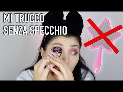 FULL FACE SENZA SPECCHIO ❌ 😱NON FATELO A CASA | MelissaTani