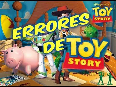Errores de toy story 1 youtube for Toy story 5 portada