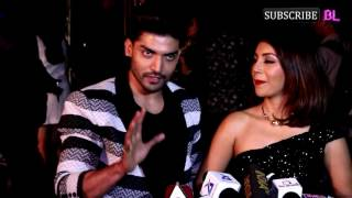 Gurmeet Choudhary and Debina Bonnerjee at Red Carpet of Mr.  India 2016 Finale