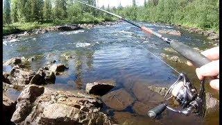 Кольский полуостров, рыбалка август 2018 @видео 1