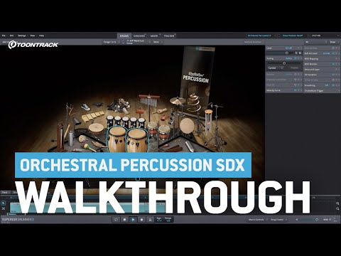 Orchestral Percussion SDX   Video Walkthrough