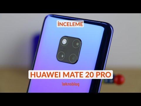 Huawei Mate 20 Pro I?ncelemesi