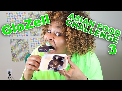 Asian Food Challenge 3 - GloZell