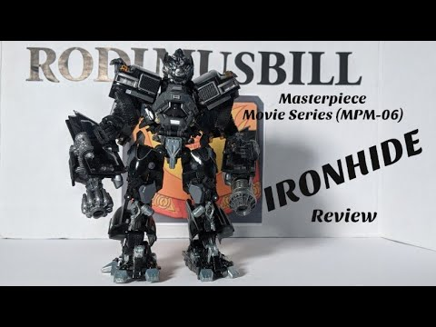 Transformers Masterpiece Movie Series IRONHIDE Review By Rodimusbill