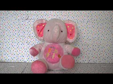 Carter's Sing and Dance Pink Sunshine Elephant