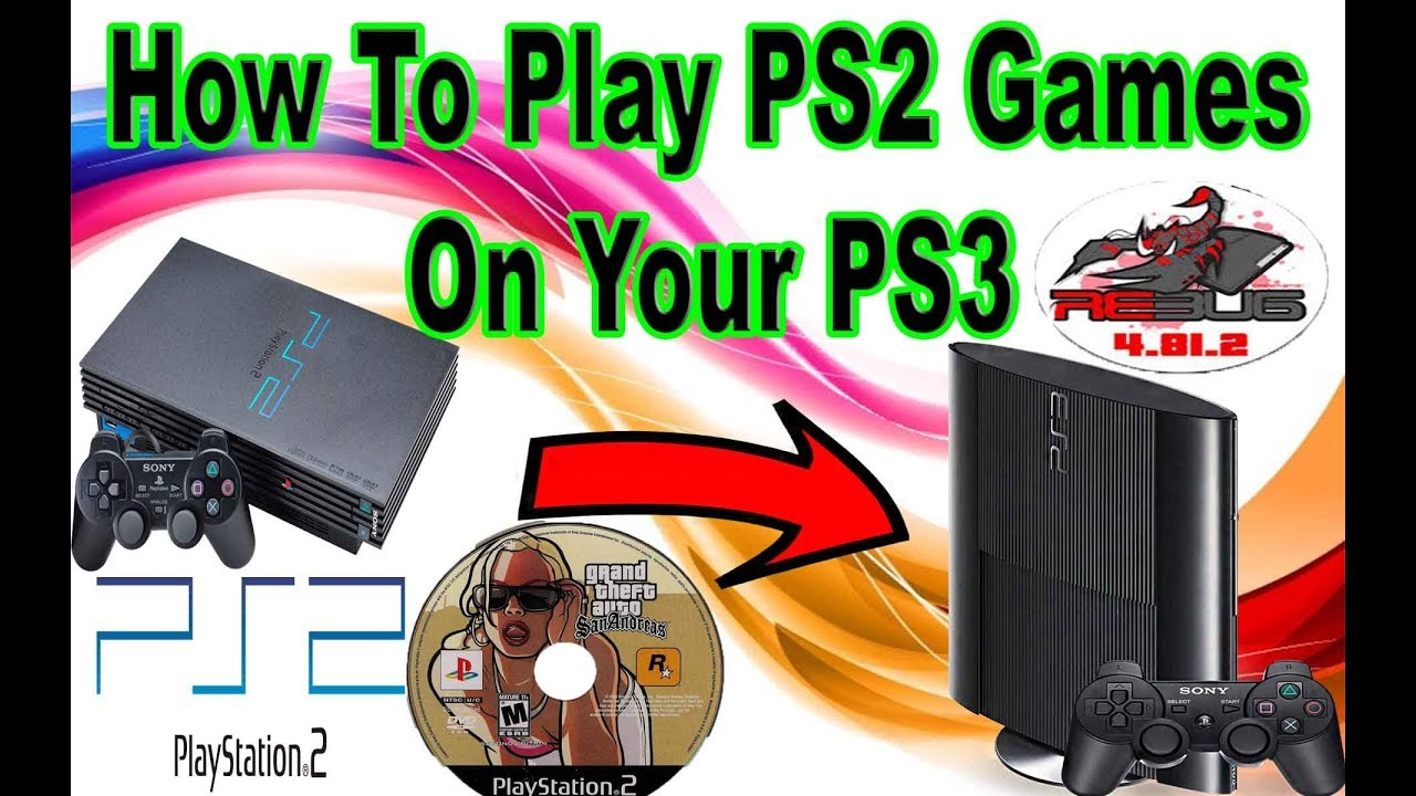 How To Play Ps2 Games On Your Jailbroken Ps3 Very Easy 2017