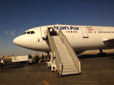 AMAZING SOUND Iran Air A300B4-2C Combi | Tehran - Ahwaz