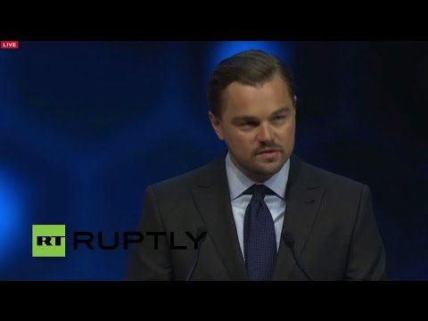 LIVE: Leonardo DiCaprio to accept Crystal Award at WEF 2016