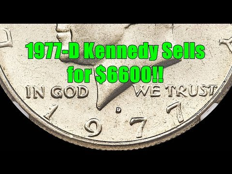 Huge Mint Error 1977 Kennedy Half Dollar Found In Pocket Change & Rolls - Recently Sold For $6600!!