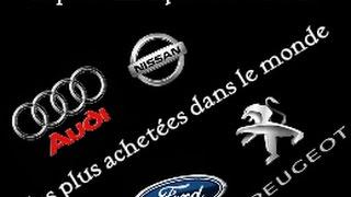 Top 10 des marques de voiture les plus achetées dans le monde