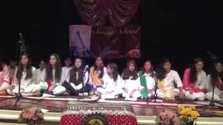 Raag Malkauns vocal ensemble by students of Swasti Pandey