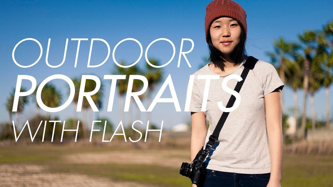 how to use off camera flash outdoors