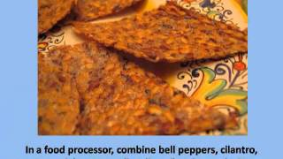 How to Make Flaxseed Crackers: Raw Food Recipe