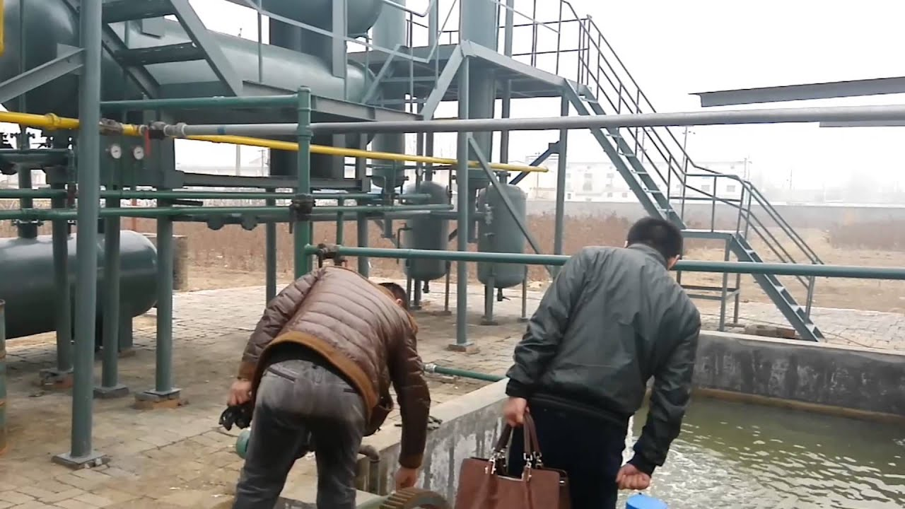 Professinal manufacturer of waste tyre pyrolysis plant for sale