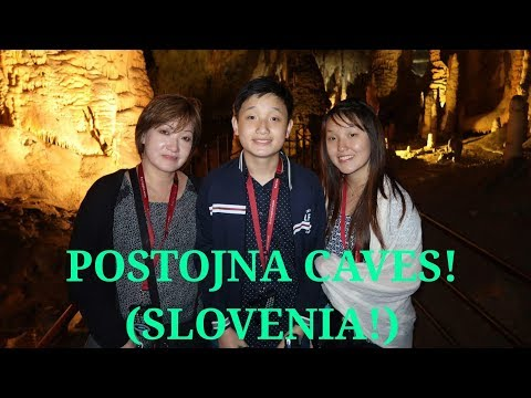 TRAIN INSIDE A CAVE OF SLOVENIA!?😱 (POSTOJNA CAVES, LAKE BLED/CASTLE)