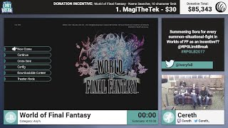 World of Final Fantasy by Cereth (RPG Limit Break 2017 Part 46)