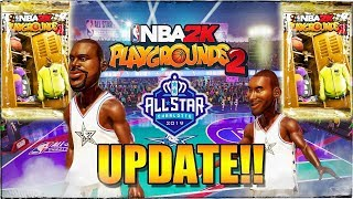 NBA Playgrounds 2: All-Star 2019 Update Packs & Team Jersey