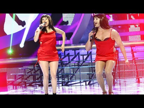 Pepe şi Anisia vs Cheeky Girls - Hooray Hooray (It's A Cheeky Holiday) / Te Cunosc De Undeva!