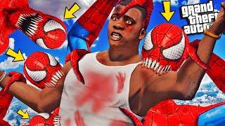 MONSTER SPIDERMAN Gets CLONED In GTA 5 (Horror)